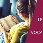Learning Italian Vocabulary