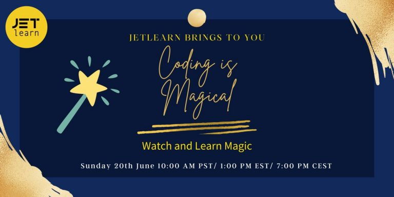 CODING IS MAGICAL !